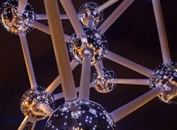 Atomium night