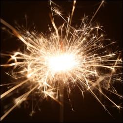 Sparkler dandelion