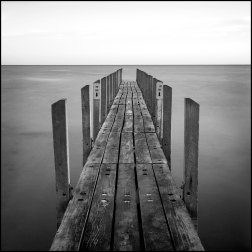 Quindalup jetty bw CG
