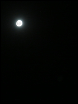 Moon, Mars, and Spica CG