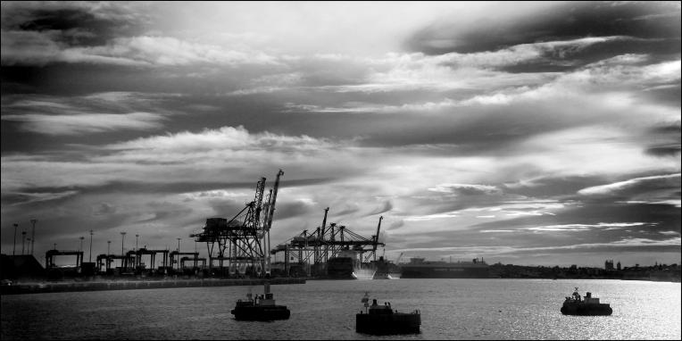 Fremantle harbour CG