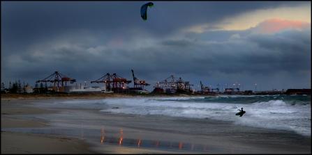 Kite surfer_1 CG